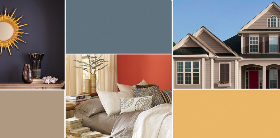 Trending Home Paint Colors | United Services | Omaha, NE on grey home color, grey home interior design, grey home ideas,